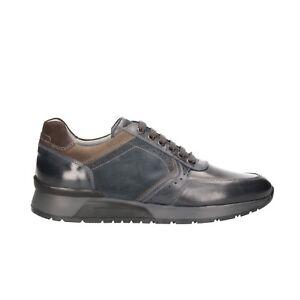 NERO GIARDINI Sneakers scarpe uomo blu 0469 mod. A800469U