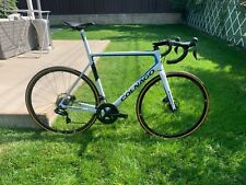 Colnago v3 size 56s ultegra di2, used frame new components