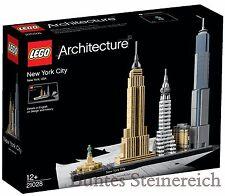 LEGO® Architecture: 21028 New York City  & 0.-€ Versand ! NEU & OVP !