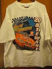TONY STEWART Vintage 2002 Home Depot #20 SIGNED T Shirt 2XL EUC