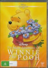 THE MANY ADVENTURES OF WINNIE THE POOH -NEW &SEALED REGION 4 DVD FREE LOCAL POST