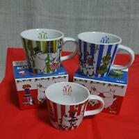 New Moomin Mug Tea Cup Limited Edition Sold at ONLY KFC Set of 3Japan
