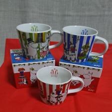 New Moomin Mug Tea Cup Limited Edition Sold at ONLY KFC Set of 3Japan