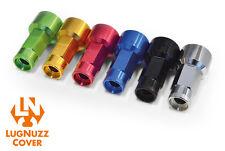 LUGNUZZ Foliatec - Radmuttern RACELOOK  Black Lug Nuts 17er  Lug Nuzz 20 Stück