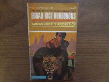 1963 Tarzan And The Golden Lion Edgar Rice Burroughs Ballantine F 753 VG