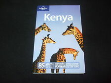 Lonely Planet - Kenya - in Englisch  - 85 Maps -