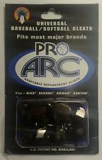 PRO ARC RUBBER/METAL UNIVERSAL BASEBALL/SOFTBALL ADAPTABLE REPLACEMENT CLEATS