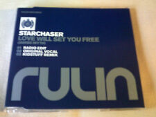STARCHASER - LOVE WILL SET YOU FREE - 3 MIX HOUSE CD SINGLE