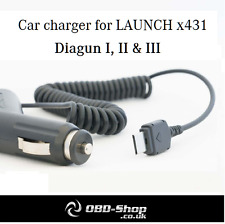 Launch x431 Diagun Car Charger - UK Stock, Fast Shipping