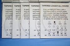 Vorfach Monofil 9ft 2,70 Meter 5er Pack Versand frei Tip 0,18mm Superdeal