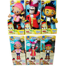 1PC Talking Disney Jake and The Neverland Pirates Plush Doll Kids Child Soft Toy