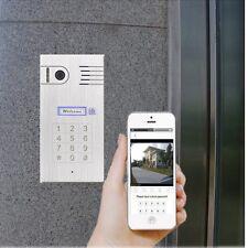 Türsprechanlage mit WLAN Gegensprechanlage Türklingel Iphone Android Smartphone