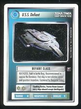 Star Trek CCG Deep Space 9 Ultra Rare UR USS Defiant WB