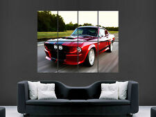 SHELBY GT500 FASTCAR POSTER WALL ART PICTURE  LARGE GIANT MUSCLECAR