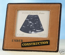 Ultrasound Picture frame under construction baby frame Gift  Baby Shower Gifts