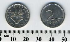 Hungary 1993 - 2 Forint Copper-Nickel Coin - Native flower: Colchicum Hungaricum