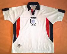 Camiseta Seleccion Inglaterra Futbol - Marca Umbro Talla XL 41 - Años 90 - LEER