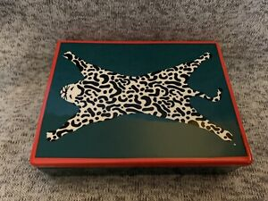 Jonathan Adler Now House Leopard Box New In Box!!