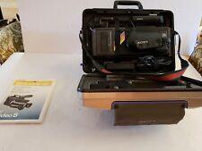 SONY HANDYCAM CCD-V8AF 8MM 8 CAMCORDER VIDEO CAMERA VCR PLAYER BATTERY COMPLETE