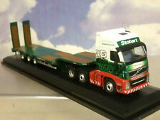 Oxford Diecast 76vol01st VOLVO Fh3 3 Axle Nooteboom Semi Low Loader Stobart