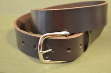 "1.5"" Wide Heavy Duty Leather Work Belt Gun Belt Handmade"
