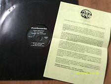 CHUMBAWAMBA-SWINGIN WITH RAYMOND LP SAMPLER PROMO+PRESS RELEASE