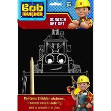 Bob The Builder Scratch Art Set