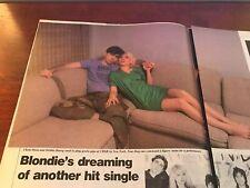 1979 Vintage 2Pg Article On Blondie Dreaming Of Another Hit Single Debbie Harry