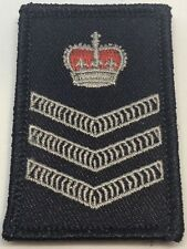 Rank Patch #9, Dark Blue, Police, NOT official NSW, Hook Rear