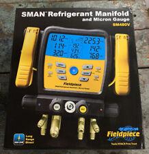 Fieldpiece Wireless 4 Port Sman Refrigerant Manifold Amp Micron Gauge Sm480v