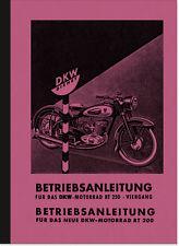 DKW RT 200 250 RT200 Bedienungsanleitung Betriebsanleitung Handbuch User Manual
