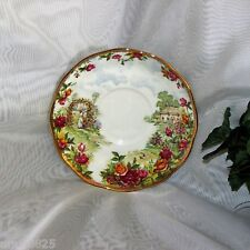 ROYAL ALBERT OLD COUNTRY ROSES SAUCER CELEBRATE 25TH ANNIVERSARY no cup
