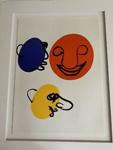 "NOv OFFER/ALEXANDER CALDER"" Original lithograph(1976)15""X11""Matted 16""X20""COA."