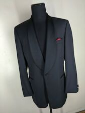 Hugo Boss  Vintage Formal One Button Shawl Collar Dinner Jacket No Vents 44 Long