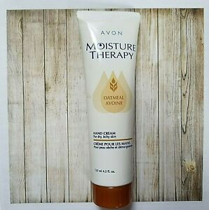Avon Moisture Therapy OATMEAL Hand Cream For Itchy Dry Skin 4.2 fl oz 125ml 2001