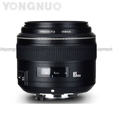 Yongnuo YN85MM F1.8 AF/MF Standard Medium Prime Fixed Telephoto Lens for Nikon