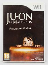 JUON LA MALDICION THE GRUDGE - NINTENDO WII - PAL ESPAÑA - JU-ON JU ON - TERROR