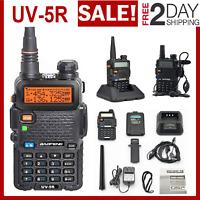 Two Way Radio Scanner Transceiver Handheld Police Fire Portable F-Antenna HAM US