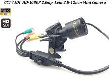 CCTV1/2.8 Panasonic 2.0MP Full 1080P Lens Zoom 2.8-12mm HD-SDI Mini Box Camera