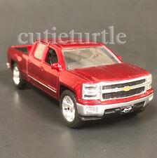 Jada Just Trucks 2014 Chevrolet Silverado Pickup Truck 1:32 Diecast Toy Red