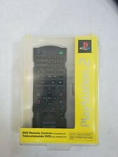 Official Sony PlayStation 2 PS2 DVD Remote Control Black OEM Open BOX LN
