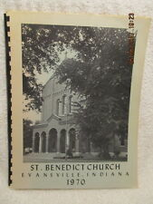 1970 St. Benedict Church Parish Directory Evansville IN With Photos & History
