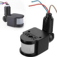 Außen LED Sicherheit PIR Infrarot Bewegungssensor Detektor Wandleuchte Q5K6