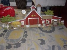 VINTAGE BURWOOD PRODUCTS CO. 1974 FARM/COUNTRY HOUSE WALL HANGING #587