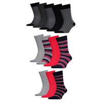 Tommy Hilfiger Mens Multi Pack Adults High Calf Socks 3 4 5 Gift Box Set