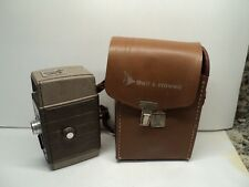 VINTAGE BELL & HOWELL 323 MOVIE CAMERA with Leather case