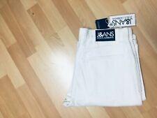 NWT Mens D&G MADE in ITALY Soft Denim White Regular W32-33 L34 H8 £299