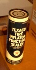 Vintage Texaco Tire Inflator Puncture Sealer 1lb 2 oz Can Not Used