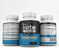 KETO TRIM EXTRA STRENGTH 1100MG 180 CAPSULES 3 MONTH SUPPLY **FAST SHIPPING**