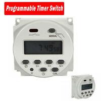 CN101A 12V-220V Digitale Timer Programmabile Elettronico LCD Interruttore Orario